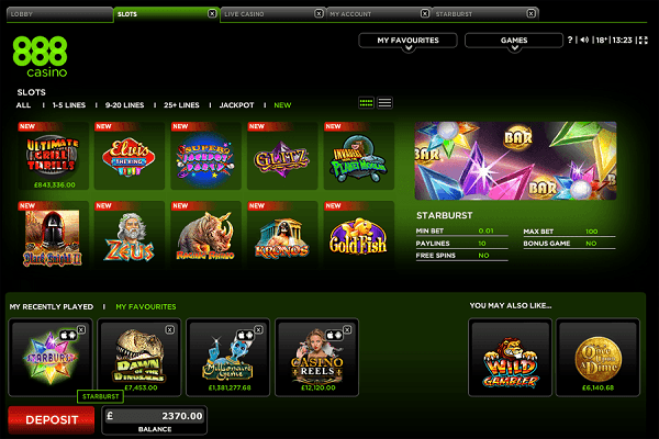 888 Casino Review - 888™ Slots & Bonus | 888.com