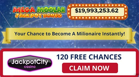 Jackpot City 120 Free Spins