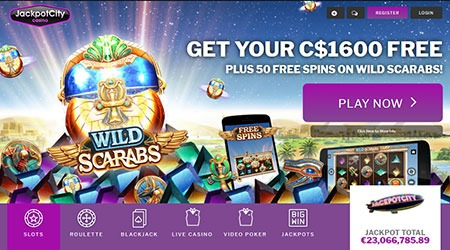Jackpot City Free Spins