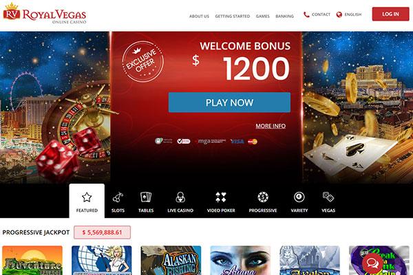 Royal Vegas Casino Canada home