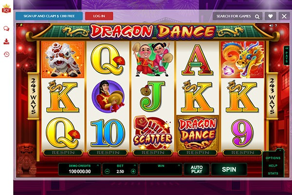 Royal Vegas Canada Dragon Dance slot