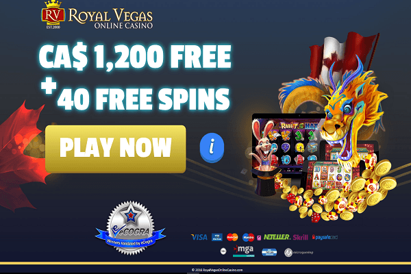 Royal vegas canada free spins