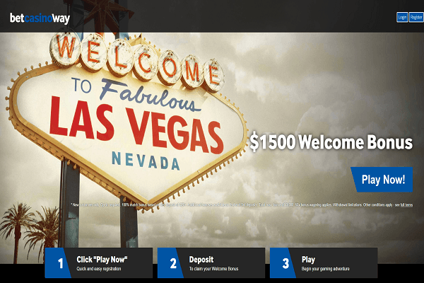 Betway Welcome to Lasvegas