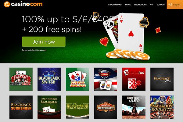 casino com blackjack