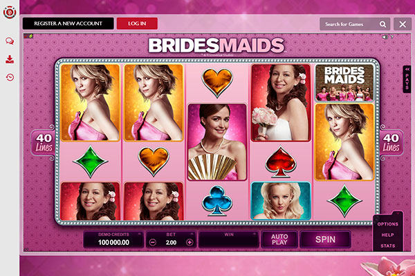 Platinum Play Canada Bridesmaids slot game