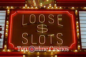 loose slots sign