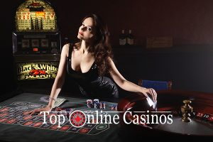 top online roulette girl