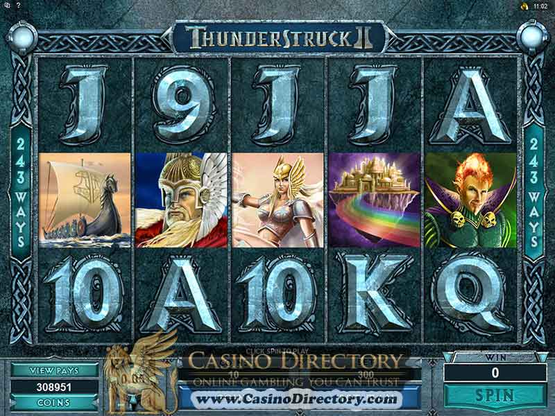Online Casinos With Thunderstruck