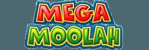 Logo of Mega Moolah slot