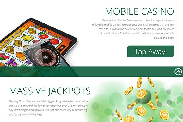 Gaming club mobile