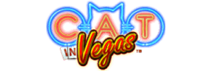 Logo of Cat in Vegas slot