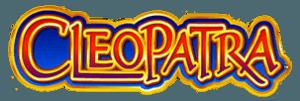 Cleopatra online slot game logo