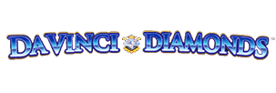 Logo of DaVinci Diamonds slot