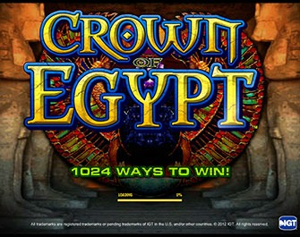 Play on Crown of Egypt
