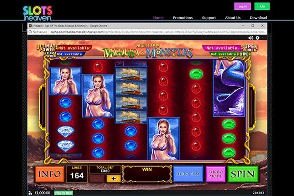 Slots Heaven Age of Gods slot game