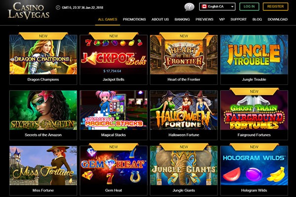 las vegas online casino review