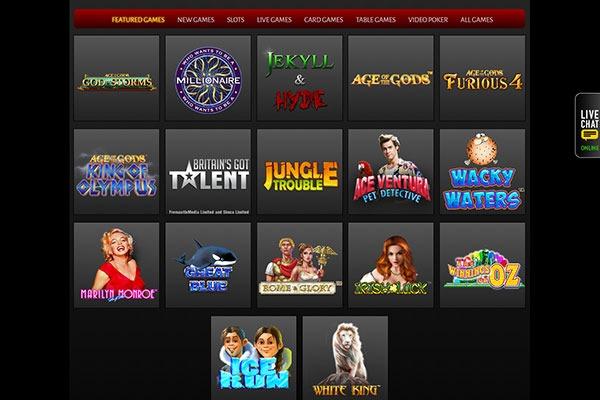 Omni Casino games