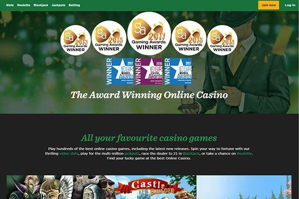 Mr Green Casino Canada awards