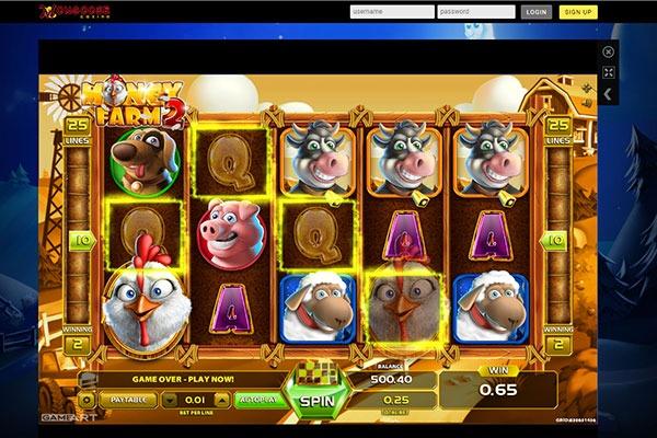 Mongoose Casino Money Farm 2 slot game