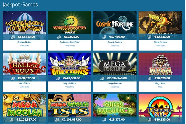 Yeti Canada casino games