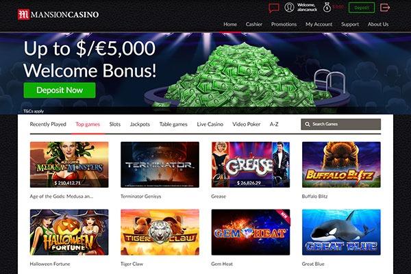 Mansion casino canada