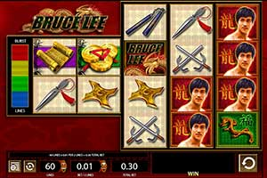 bruce lee slot game WMS gaming