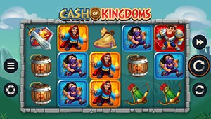 Cash of kingdoms slot game screenshot