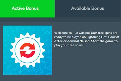 fun casino 11 no deposit spins