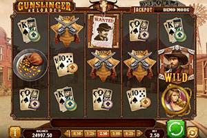 gunslinger reloaded slot game