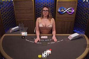 live infinite blackjack evolution gaming