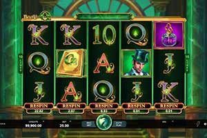 Book of OZ slot game preview
