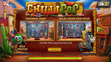 Chilli Pop slot game betsoft