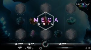 Crystal Rift slot game mega grid
