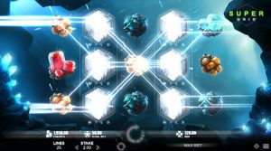 Crystal Rift slot game super grid