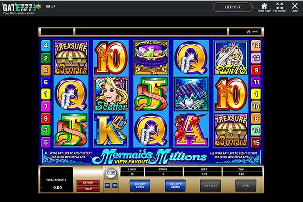 Gate777 Mermaid Millions