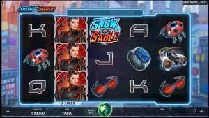 Play Action Ops Snow and Sable slot game screenshot