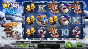 Yak Yeti and Roll slot game 3