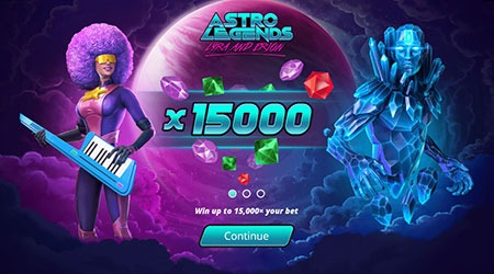 Astro legends slot game