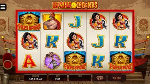 lucha legends slot game 2
