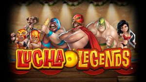 lucha legends slot game intro