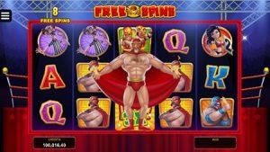 lucha legends slot game wrestler