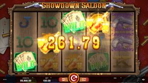 showdown saloon slot game 2