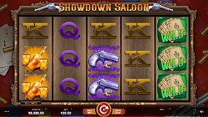 showdown saloon slot 3