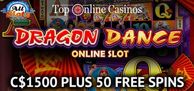 Exclusive: All Slots 50 Free Spins on Dragon Dance