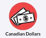 Canadian dollars icon