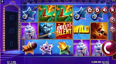 Reel talent slot symbols