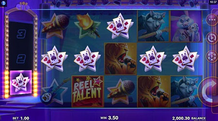 reel talent slot game win