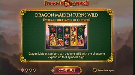 Dragon maiden slot Info