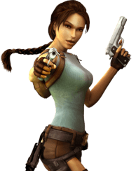 tomb raider slot game character
