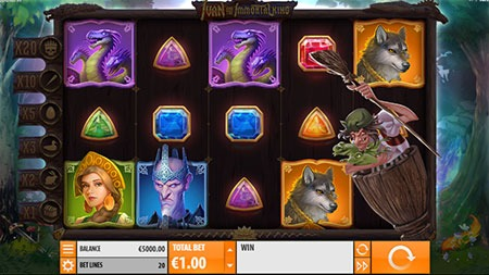 ivan and teh immortal king slot game